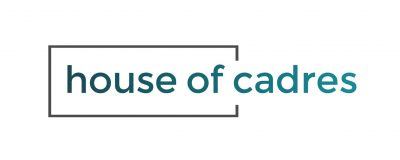 Logo HOUSE OF CADRES fond blanc sansfretslogan bassedef