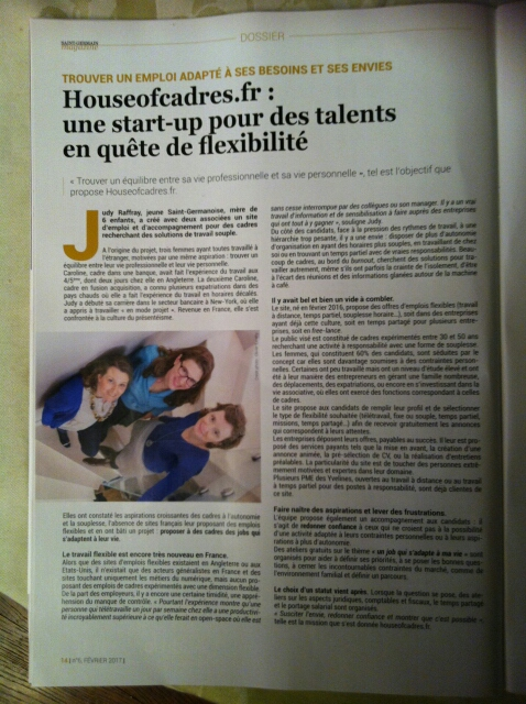 Interview saint germain magazine
